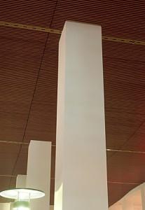 Atrium, Plafondlijnroosters 2