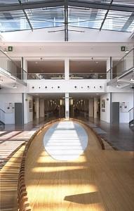 Atrium Ziekenhuis Heerlen, entree met dusen 1