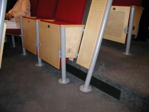 Auditorium Universiteit Maastricht , tredeverdringing
