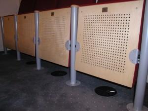 Auditorium Universiteit Maastricht, vloerroosters 1