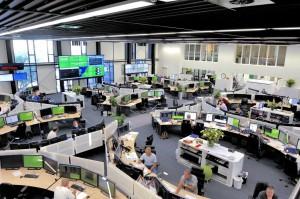 Control room OCCR
