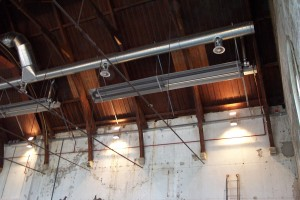 Westergasfabriek, plafondrooster 1