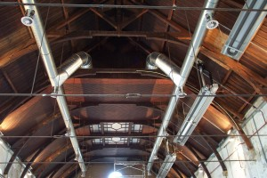 Westergasfabriek, plafondrooster 2