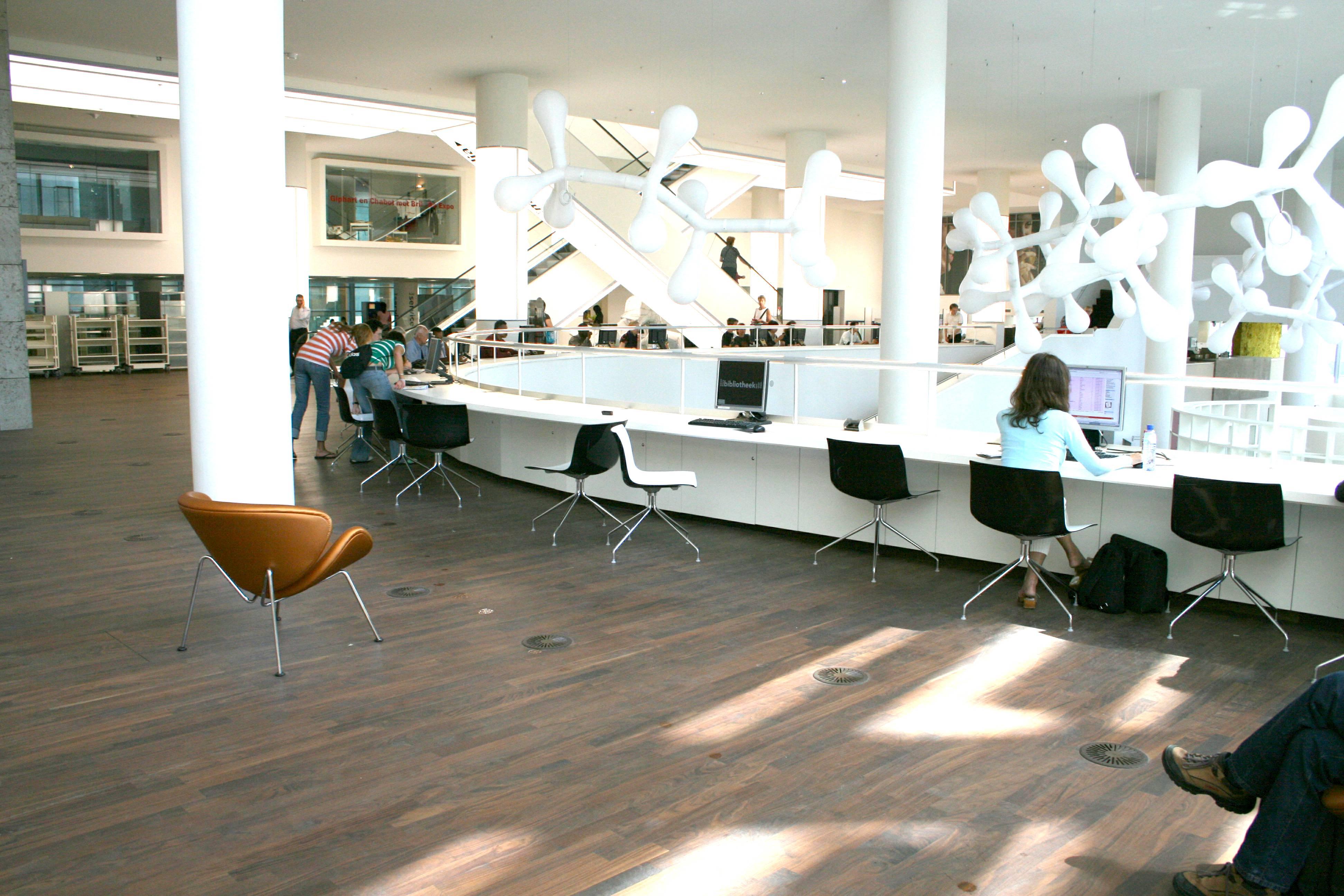 Peek bv openbare bibliotheek amsterdam - Interieur bibliotheek ...