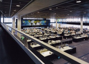 KLM operations control Center, Amsterdam Schiphol (2)