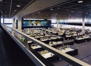 KLM operations control Center, Amsterdam Schiphol (2)