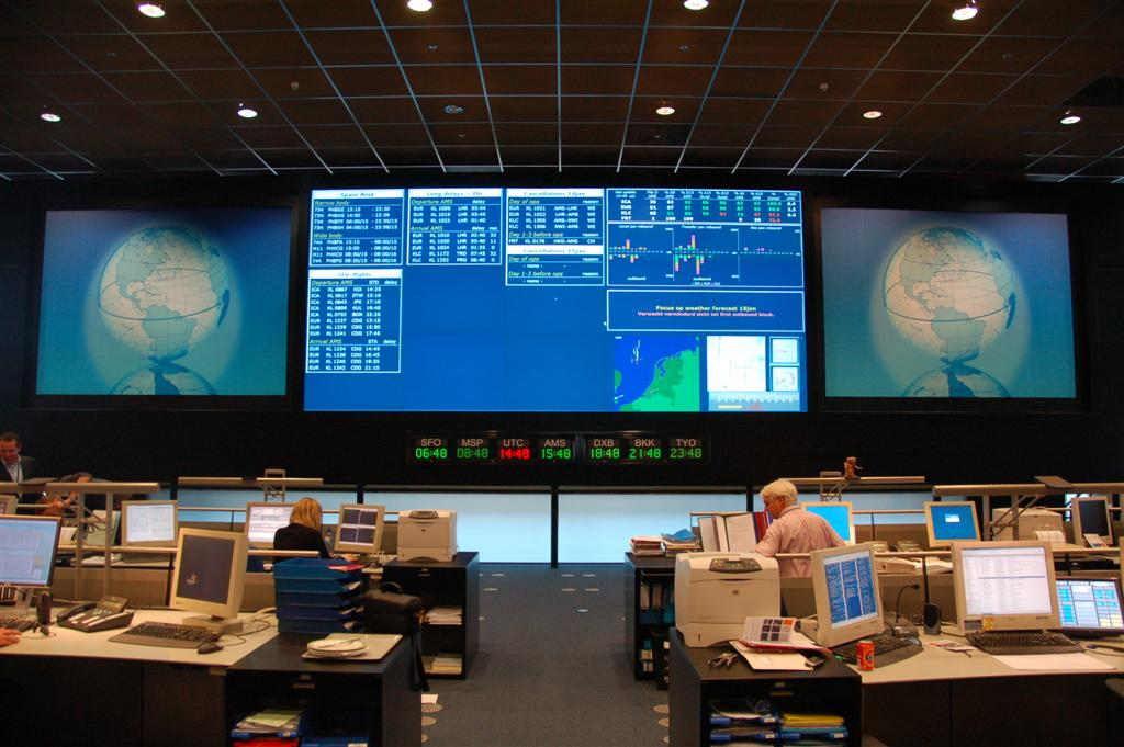 Peek Bv Klm Operations Control Center Schiphol