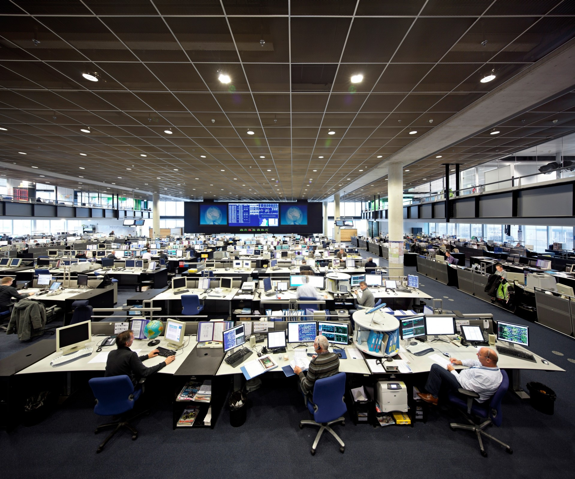 Peek Bv Klm Operations Control Center Schiphol
