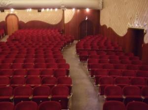 Schouwburg Kunstmin, vloerroosters grote zaal